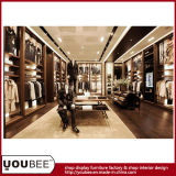 Customize Wooden Shop Fitting for Luxury Meanswear Retail Store
