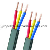 300/500V PVC Insulated Flat Wire 3cx2.5mm2 to BS 6004