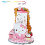 Lovely Hello Kitty Printing Paper Desk Calendar