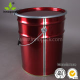 6.5 Gallon Metal Buckets Food Grade with Lock Ring Lid