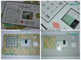 Embossed Buttons Membrane Keypad with Metal Domes Waterproof Shielding Layer