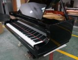 Chloris 88 Keys Black Polish Baby Grand Piano Hg-152e with Piano Stool