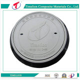 En124 D400 Composite Materials Round Manhole Cover Artistic Design