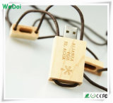Novelty Wooden USB Stick with Lanyard as Promotional Gift (WY-W28)