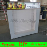 Custom Portable Modular Slatwall Exhibition Display Stand