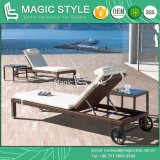 Modern Wicker Sunlounger Special Weaving Daybed (Magic Style)