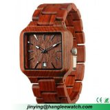 Factory OEM New Style Fashion Sandal Wood Wrist Watch