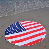 Printed Circular Round Beach Towel