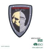 Cheaper Custom Embossed Logo Rubber PVC Badge (w-361)