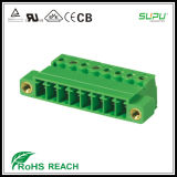 3.81mm Pitch Female Connector with Nut