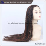 Wholesale 26inch Long 2#/30# Highlight Synthetic Full Lace Braid Wig