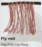 Horse Gear Fly Veil&Waxed Cotton Fly Veil&Adjustable Fly Veil