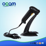 China Handheld Auto Laser Barcode Scanner with Stand (OCBS-LA06)