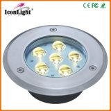 Hot Sale 6*1W LED Underground Path Light for Outdoor Garden