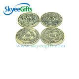 Wholesales Fashion Antique Circle Shaped Coins Metal Craft