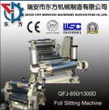 Golden Foil Roll Slitting Machine Surface Rewinding