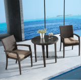 All Weather Proof Outdoor Garden Furniture Dining Set with Stackable Chair &Kd Table (YTA362-1&YTD581)
