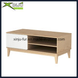 Modern Solid Wood+MDF Coffee Table