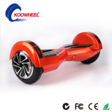 Samsung Lithium Battery Two Wheel Electric Self Balancing Scooter with Certificate