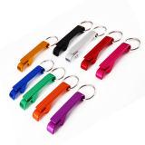 Multifunctional Portable Bottle Opener Keychain Customized Logo Promotion Gift