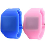 New Fashion Custom Design Changeable LED Face Silicone Jelly Watch