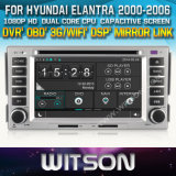 Witson Car DVD Player for Hyundai Elantra 2000-2006 (W2-D8268Y) CD Copy with Capacitive Screen Bluntooth 3G WiFi OBD DSP