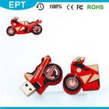 Customized Personalized USB Flash Drive Motorcycle Pendrive (EW045)