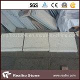 Rusty Yellow/Light Beige Granite Stone Step for Stair