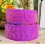 Nylon/ Polyester Hook & Loop in Light Purple Color