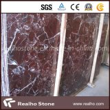 Polished Red Marble Rosso Levanto Marble for Hotel Lobby