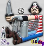Pirate Captain Inflatable Bouncer