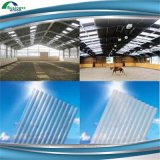 Trapezoid Prepainted Corrugated Metal Color Coated Roof Sheet Materials