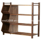 Four Tiers Shoe Rack with Three Cubbies with CE (G-SR11)