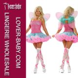 Fantastic Woman Sexy Halloween Fairy Costume (L1175)