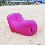2017 Unique Inflatable Air Sofa Lazy Sleeping Bag with Lazyback Design