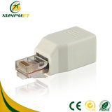 Metal Parallel 8p8c Female RJ45 Network Data Adapter