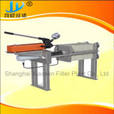 Manual Jack Chamber Filter Press for Sewage Treatment