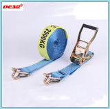 Polyester Webbing Cargo Lasting Ratchet Strap Tie Down