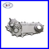 OEM Custom Motor Case Engine Parts Oil Pump Timing Gear Chamber Cover Cylinder Head Sand Cast Die Casting Part with CNC Machining