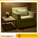 Hotel Sofa Accent Chairs with Solid Wood Structure Upholstered Seat