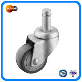 Grip Ring Stem Swivel Caster PU Wheel