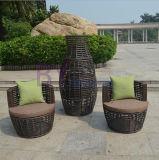 Brown High-End Space Saving Outdoor Garden PE Rattan Chair