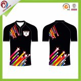 Best Sell Sublimation 100% Polyester Mens Rugby Jersey for Match