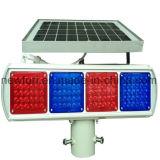 solar traffic warning light/blinker