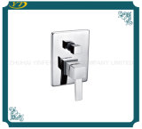 Fashion Zinc Handle Chrome Finished Bathroom Faucet