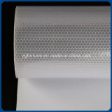 Custom Prints Outdoor Advertising Reflective Honeycomb Sticker Material Silver White