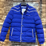 Blue Young Man Padded Jacket Men′s Outwear