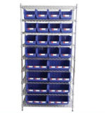 Wire Shelf, Coated 8-Tier Steel Shelf (WST3614-008)