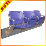 Blm-4252 Juyi Factory Aluminium Leg Soccer UV Fading Gym Stadium Fashion Style Portable Outdoor Plastic Folding Chairs VIP Seats