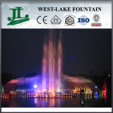 Outdoor Music Fountain Built on The Lake or River